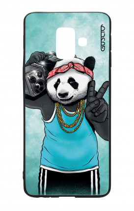 Samsung A6 Plus WHT Two-Component Cover - Eighty Panda