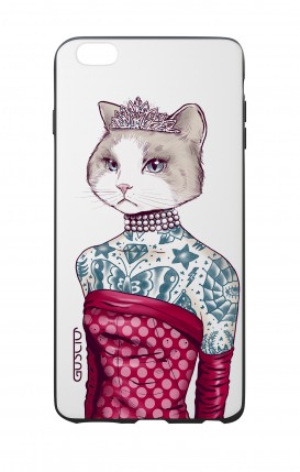 Cover Bicomponente Apple iPhone 7/8 Plus - Gattina principessa bianco