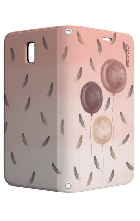 Cover STAND Samsung J3 2017 - 3 Palloncini rosa