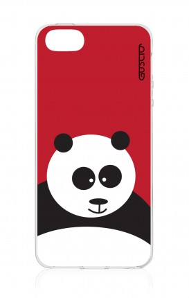 Cover TPU Apple iPhone 5/5s/SE - Panda rosso