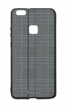 Huawei P10Lite White Two-Component Cover - Glen plaid
