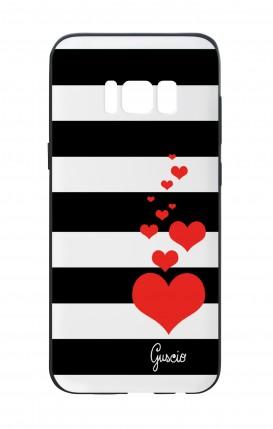 Cover Bicomponente Samsung S8 - Loving Stripes