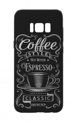 Cover Bicomponente Samsung S8 - Coffee Style