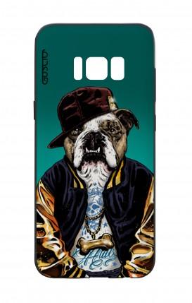 Cover Bicomponente Samsung S8 - Bulldog inglese
