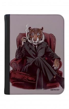 """Case UNV TABLET 9-10"""" WHT/BLK - Elegant Tiger"""