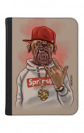 """Case UNV TABLET 9-10"""" WHT/BLK - Rap Dog"""
