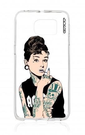 Cover Samsung Galaxy S6 Edge Plus - Audrey tatuata