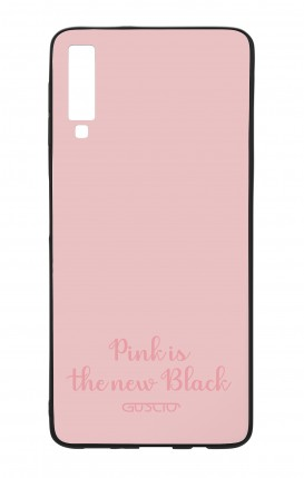 Samsung A7 2018 WHT Two-Component Cover - Pink is the new Black