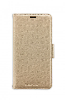 Case STAND SAFFIANO Apple iphone 11 Gold - Neutro