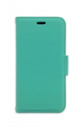 Case STAND SAFFIANO Apple iphone 11 Tiffany - Neutro