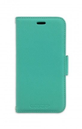 Case STAND SAFFIANO Apple iphone 11 PRO MAX Tiffany - Neutro