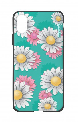 Apple iPhone XR Two-Component Cover - Daisy Pattern