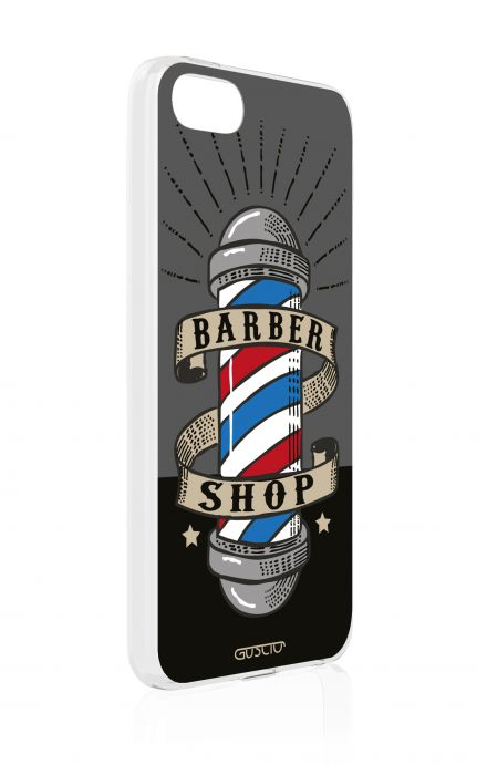 Cover Apple iPhone 5/5s/SE - Barber Shop Banner