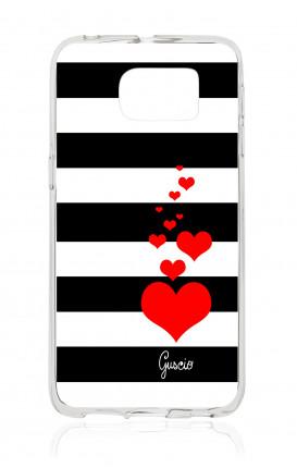 Cover TPU Samsung Galaxy S6 Edge Plus  - Loving Stripes