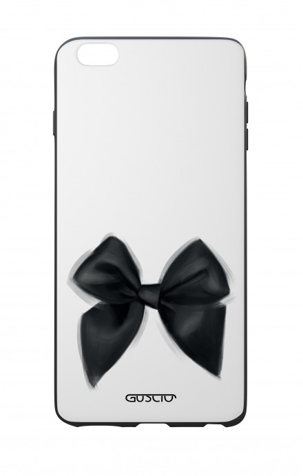 Apple iPhone 7/8 Plus White Two-Component Cover - Black Bow