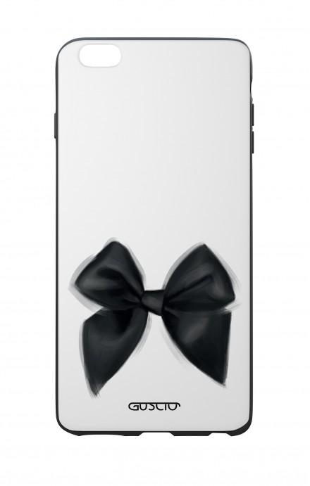 Cover Bicomponente Apple iPhone 7/8 Plus - Fiocco nero