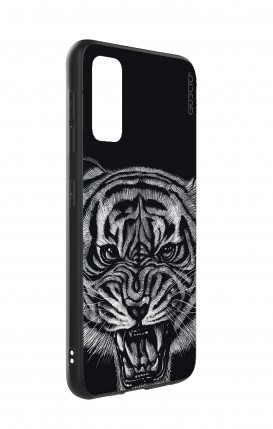 Cover Skin Feeling Apple iphone XR BLK - InizialiCifre max 3 caratteri