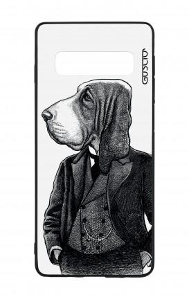 Cover Bicomponente Samsung S10 - Cane in panciotto