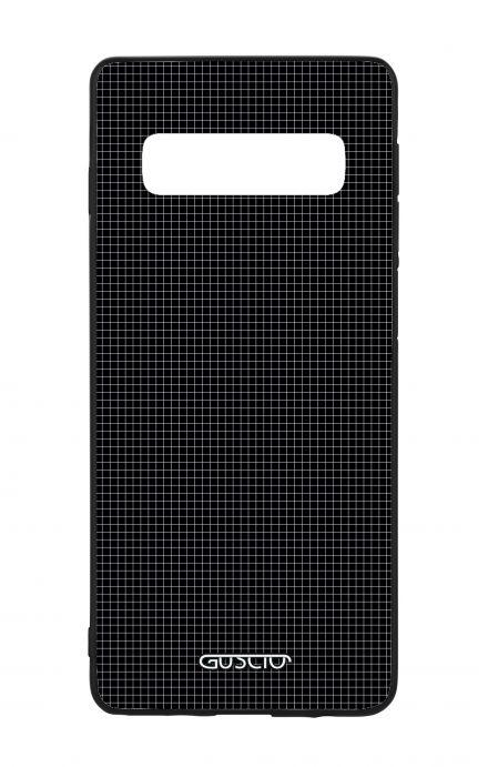 Cover Bicomponente Samsung S10 - Mini quadretti