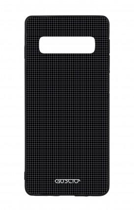 Samsung S10 WHT Two-Component Cover - Small Checks