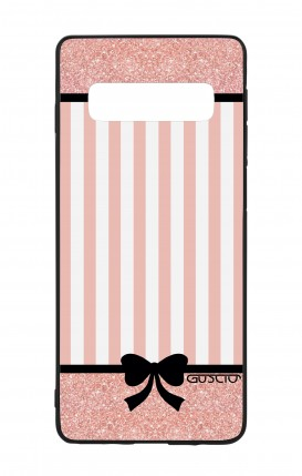 Samsung S10 WHT Two-Component Cover - Romantic pink