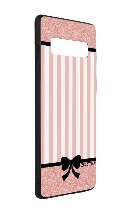 Cover Bicomponente Samsung S10 - Rosa romantico