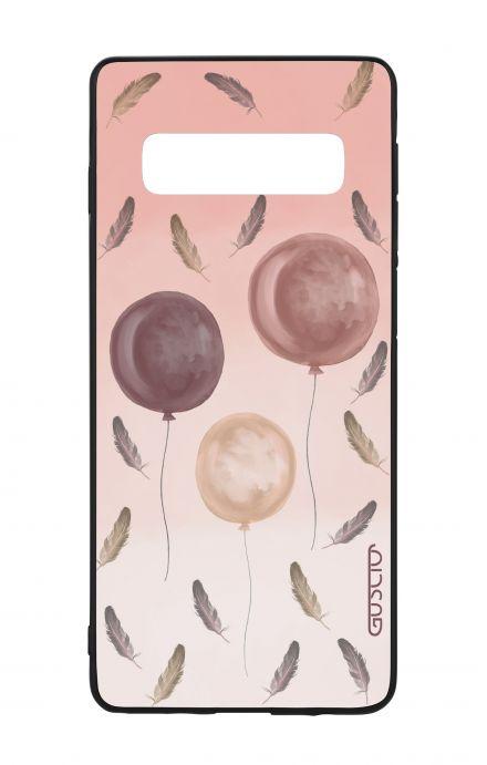 Cover Bicomponente Samsung S10 - 3 Palloncini rosa