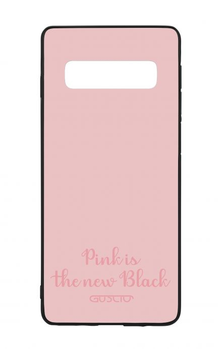 Cover Bicomponente Samsung S10 - Pink is the new Black