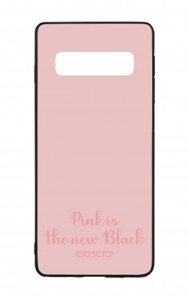 Samsung S10 WHT Two-Component Cover - Pink is the new Black