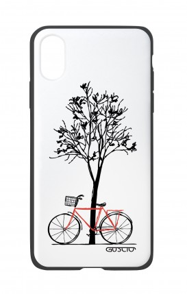 Apple iPhone XR Two-Component Cover - Cycle & Tree