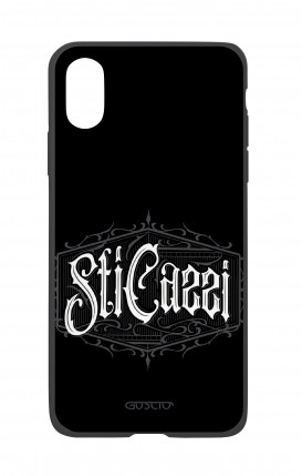 Apple iPhone XR Two-Component Cover - Gothic Sti Cazzi
