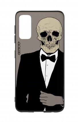Cover Samsung S20 - Tuxedo Skull
