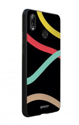 Cover Bicomponente Apple iPhone XS MAX - Fiocco nero