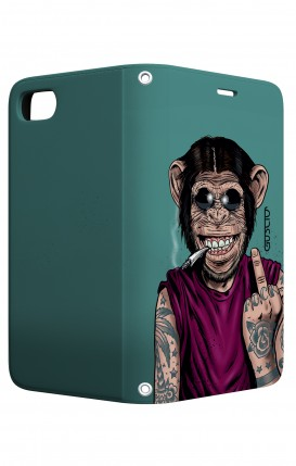 Case STAND Apple iph6/6s - Monkey's always Happy