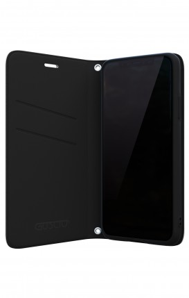 Cover Bicomponente Samsung A6 Plus WHT - Scritte e Cuori rosa nero