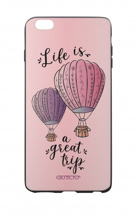Apple iPhone 6 WHT Two-Component Cover - Life is a Great Trip