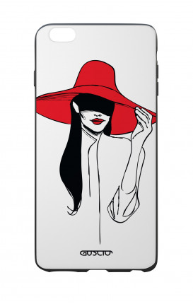 Apple iPhone 6 WHT Two-Component Cover - Red Hat
