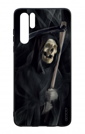 Huawei P30PRO WHT Two-Component Cover - Black Death