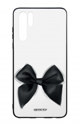 Huawei P30PRO WHT Two-Component Cover - Black Bow