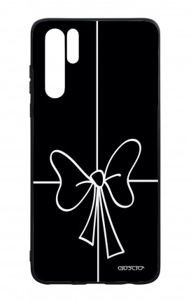 Huawei P30PRO WHT Two-Component Cover - Bow Outline