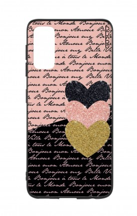 Cover Samsung S20 - Hearts on words