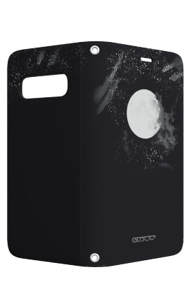 Apple iPh XS MAX WHT Two-Component Cover - Biker Pig