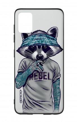 Samsung A51/A31s - Raccoon with bandana