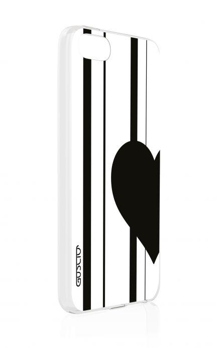 Cover Apple iPhone 5/5s/SE - Cuore a metà