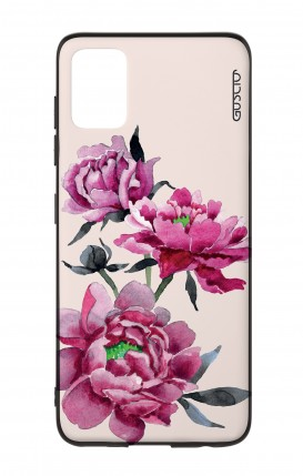Samsung A51 Two-Component Cover - Pink Peonias