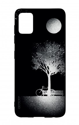 Samsung A51 Two-Component Cover - Moon and Tree
