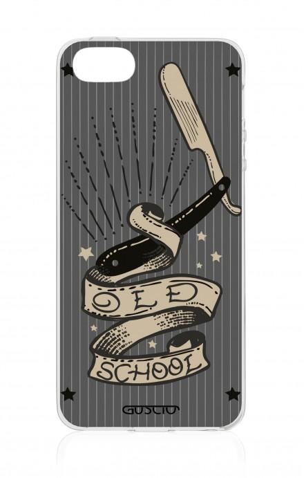Cover Apple iPhone 5/5s/SE - Old School Razor