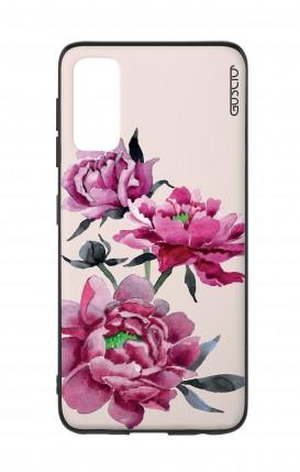 Cover Samsung S20 - Pink Peonias