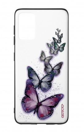 Cover Bicomponente Samsung S20Plus - Volo di farfalle