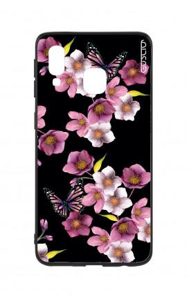 Cover Bicomponente Samsung A20e - Fiori di ciliegio